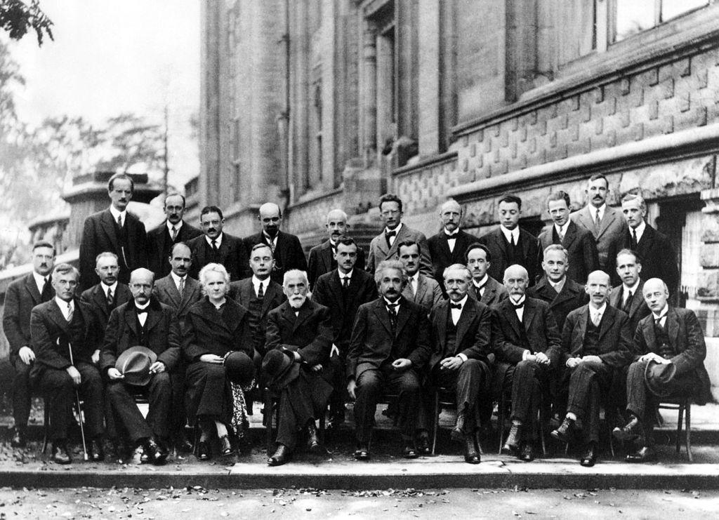 Solvay Conference 1927 -  Photo Shoot Solvay,Conference,Physics,Albert Einstein,Neil Bohr